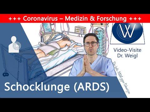 ARDS: Akutes Lungenversagen durch Coronavirus & Influenza – Schocklunge als gefährliche Komplikation