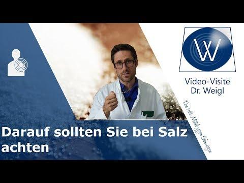 Krank durch Salz? Wie sehr Salz unsere Gesundheit schadet: Der versalzene Mensch