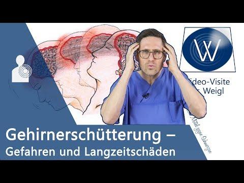 Auf den Kopf gefallen? Gehirnerschütterung & Übelkeit: Was tun? Symptome | Gefahren | Soforthilfe