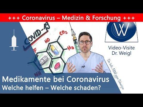 Welche Medikamente helfen gegen das Coronavirus? Was stimmt zu Blutdruckmedikamenten & Ibuprofen?