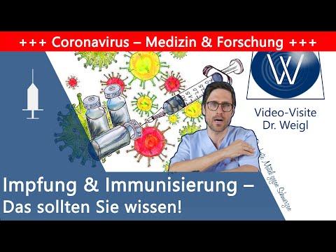 Impfungen: Wie stärkt es unser Immunsystem? Wie bekommen wir eine Immunisierung gegen Corona & Co?