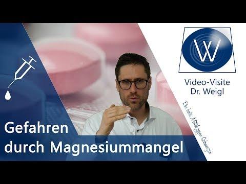 Magnesium & Magnesiummangel: Bei diesen 6 Krankheiten hilft Magnesium! Folgen & Symptome von Mangel