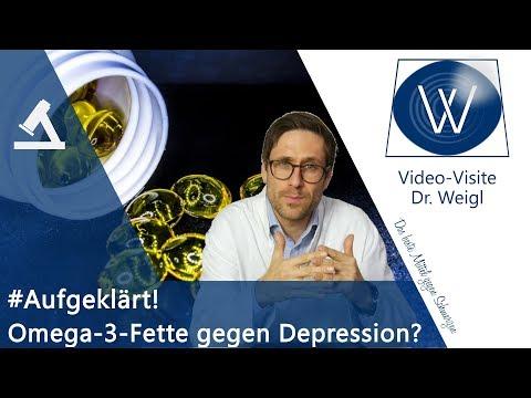 Die Rolle von Omega 3 Fettsäuren bei schlechter Stimmung, Depression ⏩ Fakten, Wirkung & Studienlage