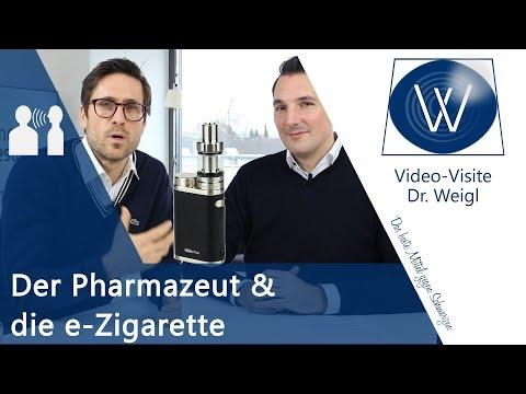 Ist die E Zigarette schädlich? Gespräch mit Pharmazeut S. Kuhnert über e-Zigarette & Medikamente