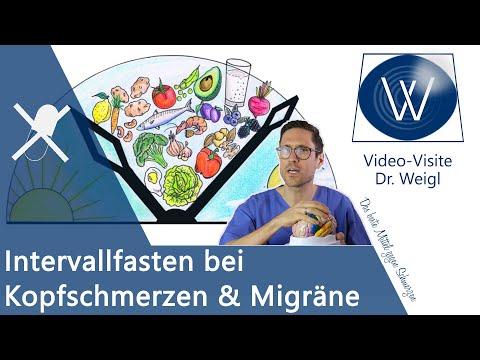 Intervallfasten (intermittierendes Fasten) bei Migräne - Chance oder Risiko? Migräne durch Fasten!