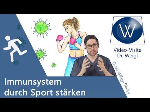 Sportimmunologie: So stärkst du Dein Immunsystem durch Sport - Seltener krank & länger leben