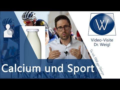 Calcium Verlust durch Sport & Schwitzen? Symptome & Ursachen für Calciummangel vs Calciumüberschuss❗