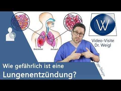 Lungenentzündung: Wie gefährlich ist die Pneumonie? Hygiene & Prophylaxe sowie Symptome & Therapie❗