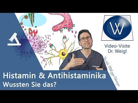 Histamin in Lebensmittel: Auslöser von Allergie, Intoleranz & Lebensgefahr? Wichtige Antihistaminika
