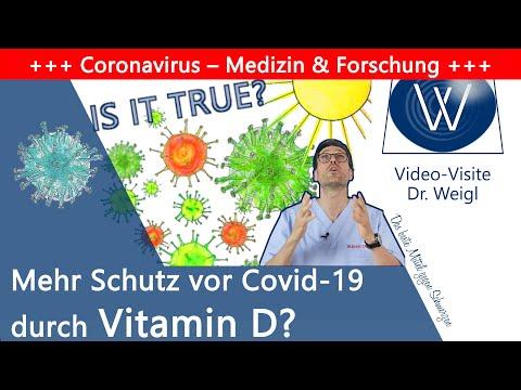 Vitamin D & Coronavirus 🌞 Schützt uns das Sonnenvitamin vor Viren, Covid-19 & Atemwegsinfektionen?