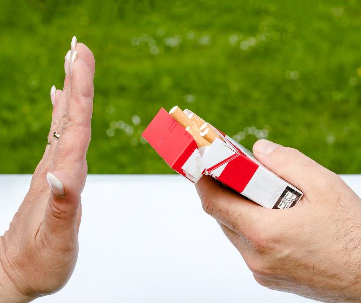 Mit dem Rauchen aufhören dank Aromen