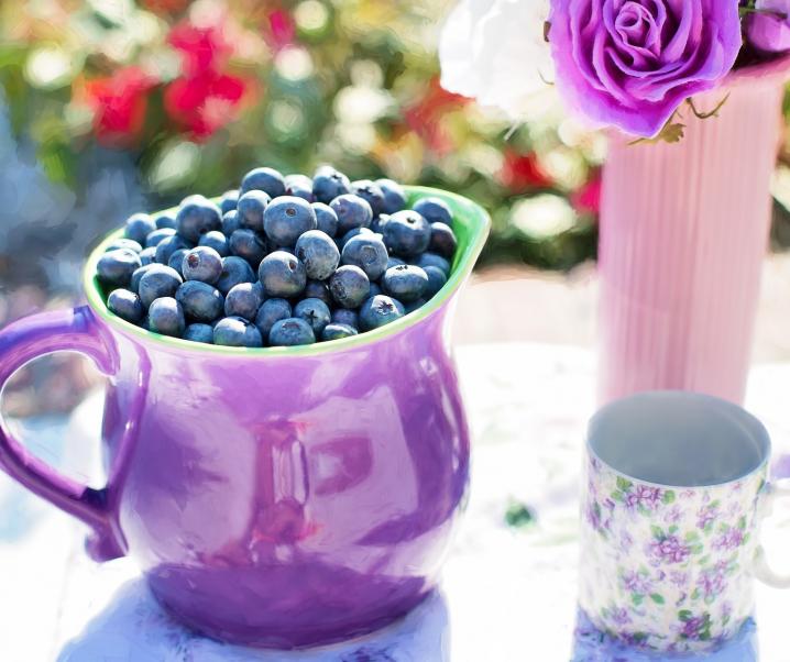 Tägliche Portion Blaubeeren schützt das Herz