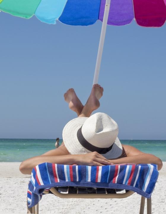 Sonnenbaden schadet dem Immunsystem