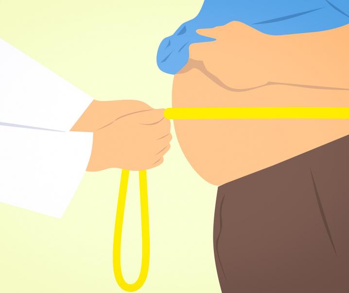 Übergewichtige lagern Fett in der Lunge ein