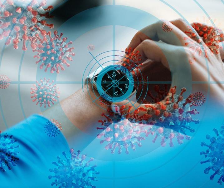 Corona-Test per App: Smartwatches machen es möglich