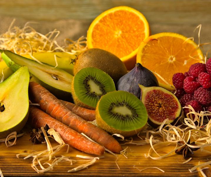 Empfehlung: Obst und Gemüse unbedingt mit Schale essen!
