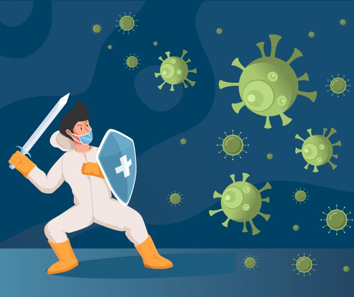 Covid-19: Körpereigenes Protein für mögliche Therapie entdeckt