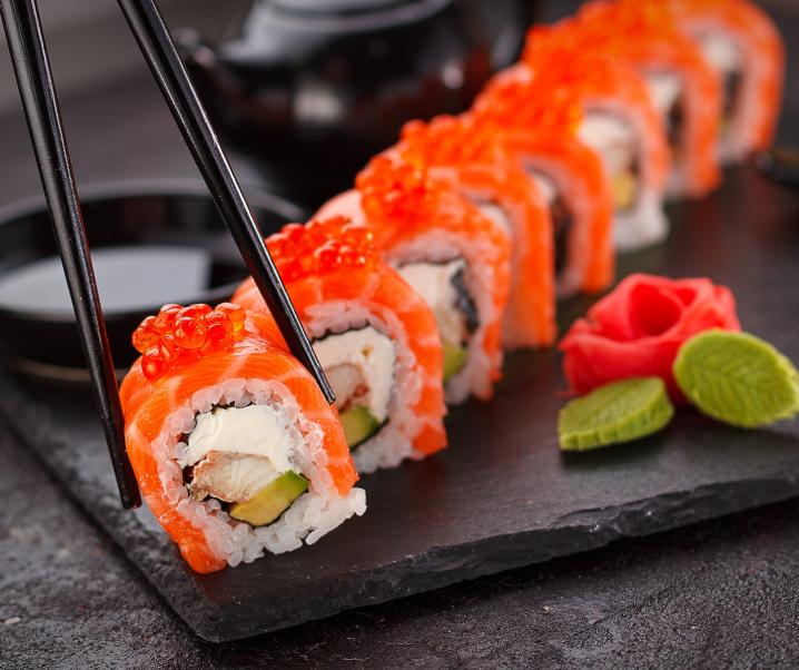 Schadstoffbelastung in Sushi alarmierend